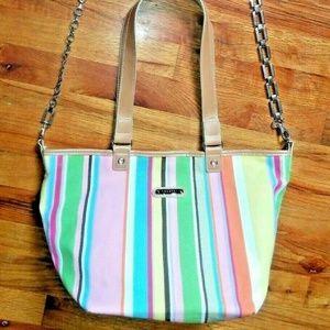 Rosetti Multicolor Striped Shoulder bag Tote bag